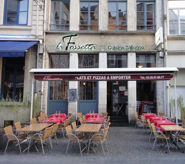 Restaurant Italien Rue Des Fosses Lille