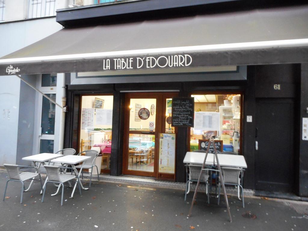 La table d 39 edouard bar lille - La table du boucher lille ...