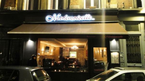 Mademoiselle V Restaurant Carte
