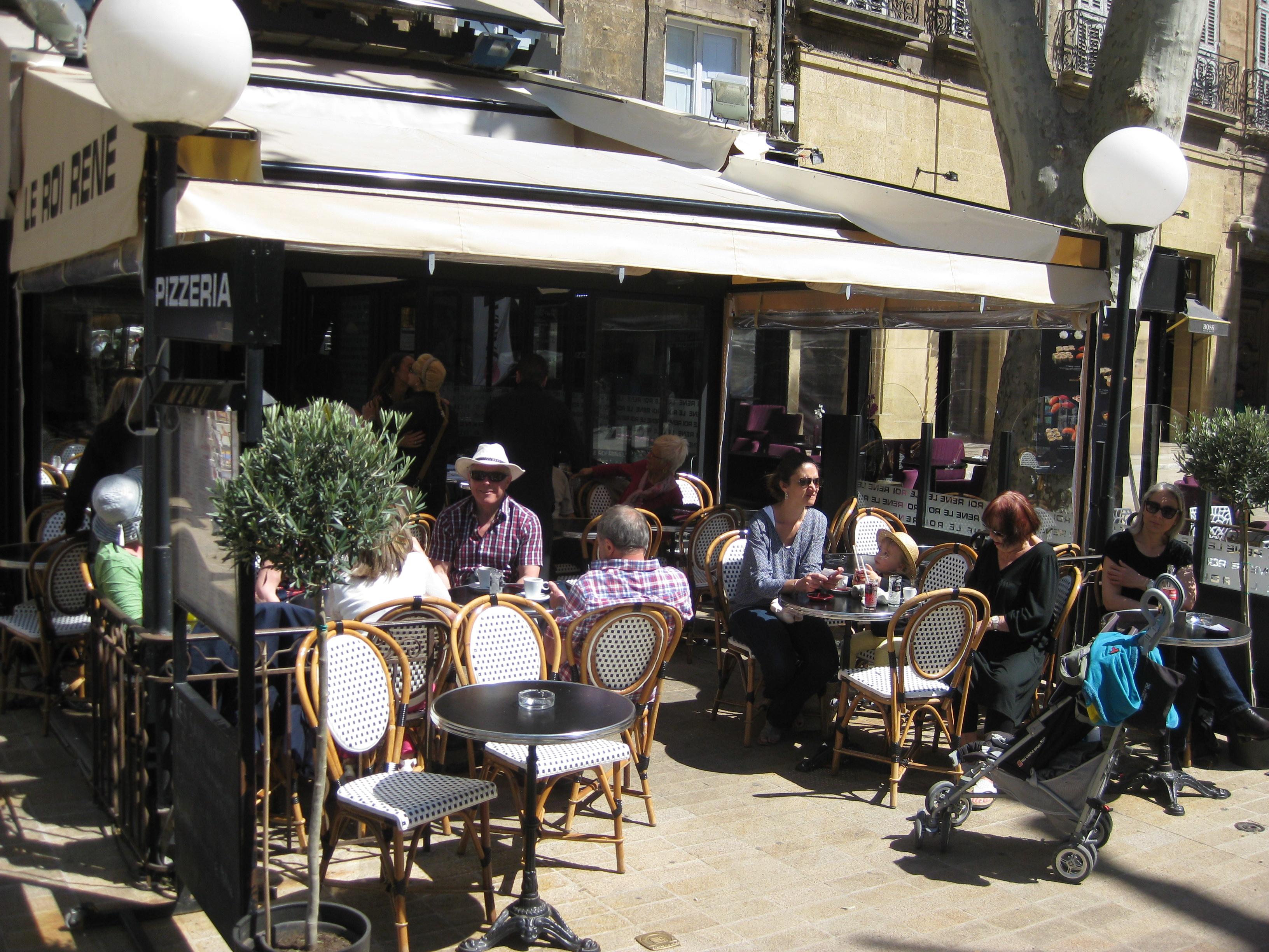 Le roi ren restaurant aix en provence for Restaurant poisson salon de provence