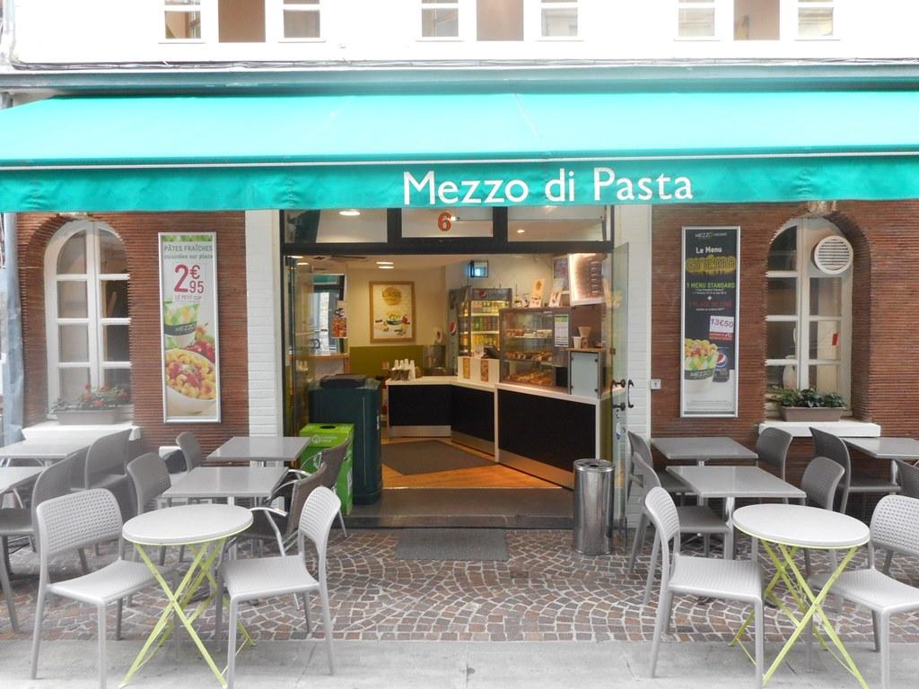 Restaurant Mezzo Di Pasta Lille